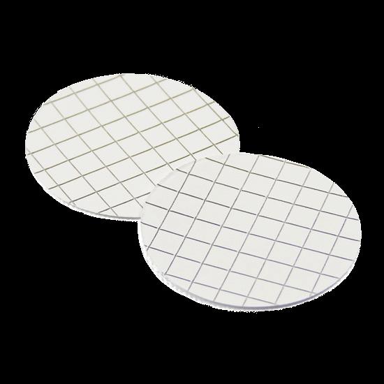 MCE rácsozott membrán szűrőlap, fehér, egyenként csomagolt, steril, 0,8μm, 47mm