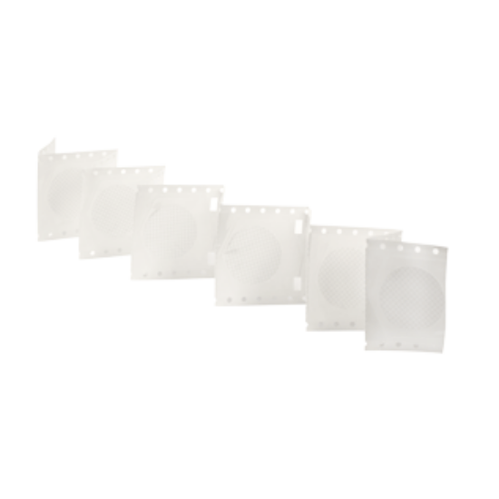 rácsozott steril MCE membrán szűrőlap, pórusméret: 0,22μm, átmérő47mm, fehér